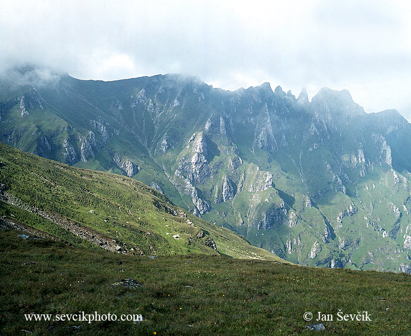Photo of pohoří Bucegi vrchol Omul Bucegi mountains Gebirge