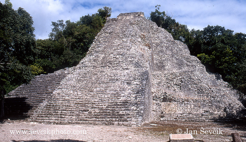 Photo of Mayské město Coba Mexiko, Coba mayan ruins