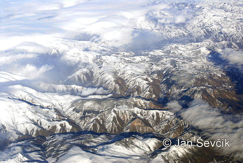Photo of pohoří severního Iránu Nordwest of Iran Mountains