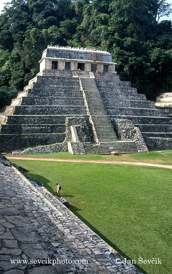Photo of mayské město Palenque Palenque mayan ruins Mexico