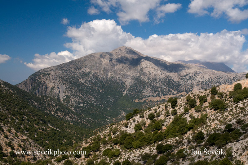 Photo of pohoří Mountains Gebirge Psiloritis Crete Kreta
