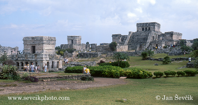 Photo of Mayské město Tulum Mexiko, Tulum mayan ruins
