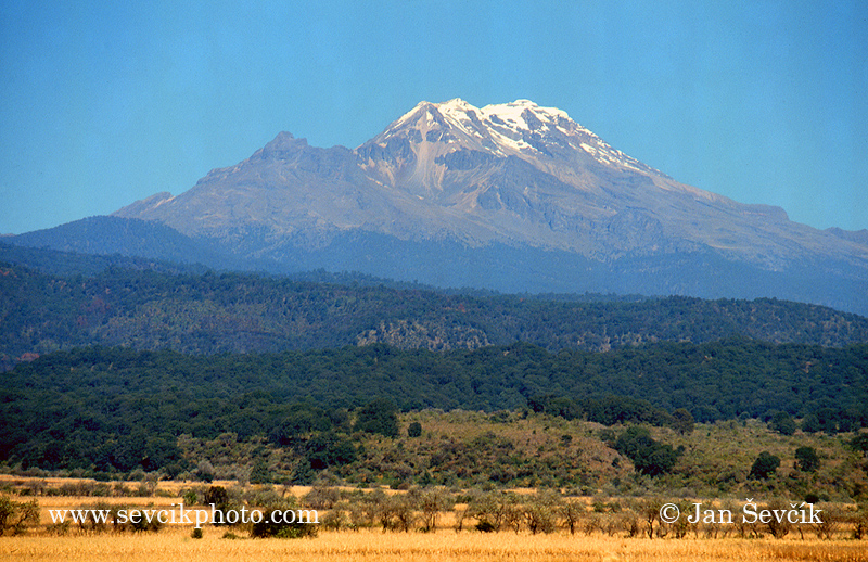 Photo of sopka volcano Ixtaccihuatl Mexico