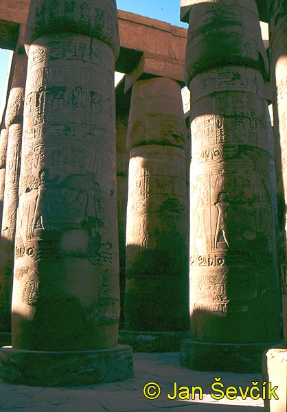 Photo of chrám temple tempel Karnak Egypt