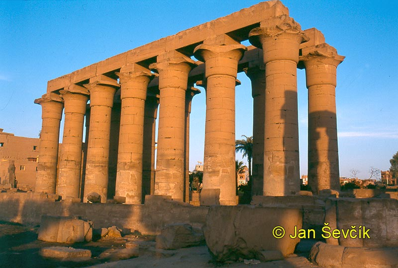 Photo of chrám temple tempel Luxor Egypt
