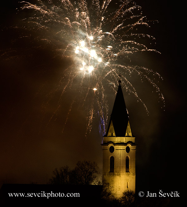 Photo of ohňostroj 010113 Třeboň fireworks