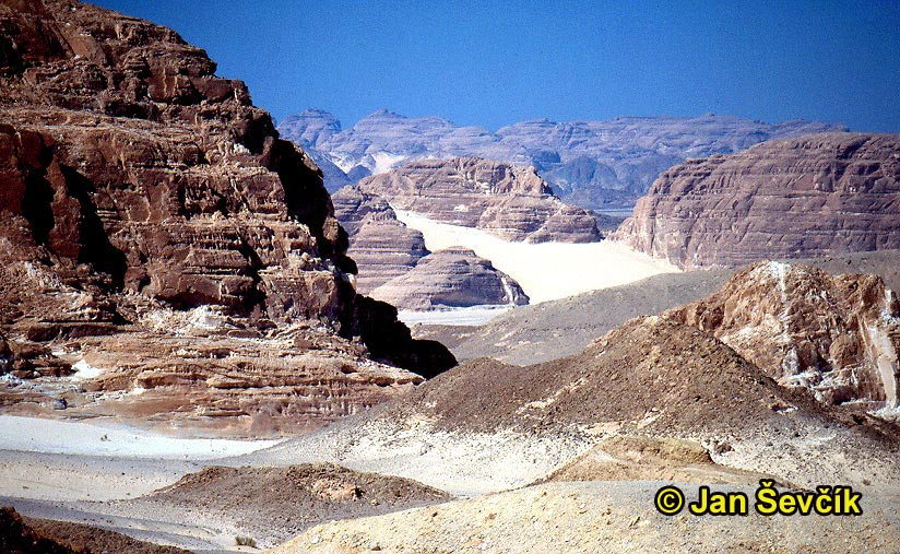 Photo of Sinaj, Sinai desert.