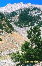 Photo of Olympos Mountains.