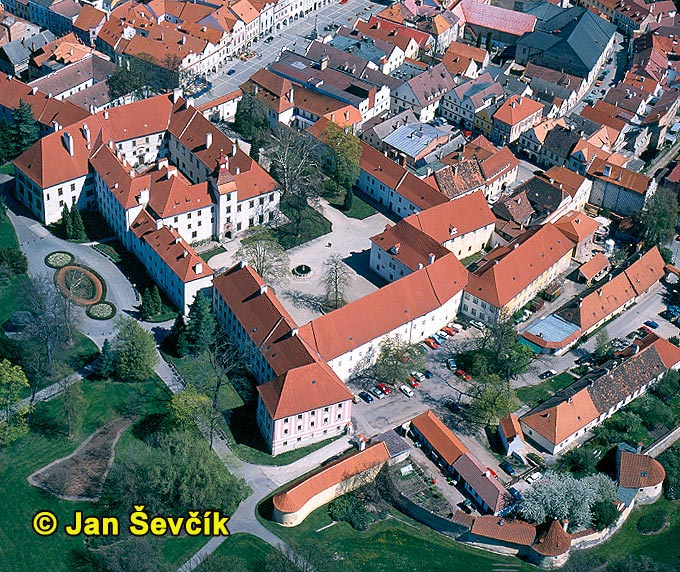 Photo of Třeboň town, Czech Republic